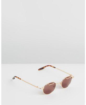 Amber Sceats - Joey Glasses - Sunglasses (Gold) Joey Glasses