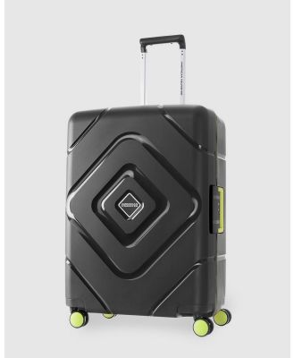 American Tourister - Trigard Spinner 66 24 - Travel and Luggage (Black) Trigard Spinner 66-24