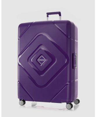 American Tourister - Trigard Spinner 79 29 TSA - Travel and Luggage (Purple) Trigard Spinner 79-29 TSA