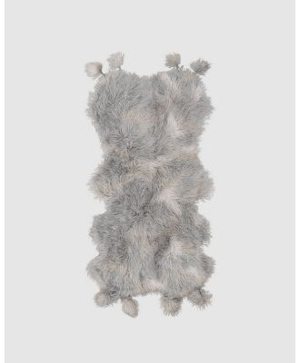 Amigos De Hoy - Fluffelbuster Throw - Home (Grey) Fluffelbuster Throw