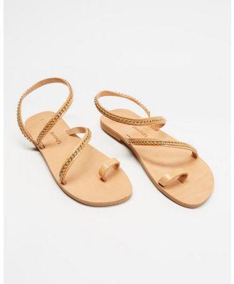 Ammos - Kaliroi Sandals - Sandals (Tan) Kaliroi Sandals