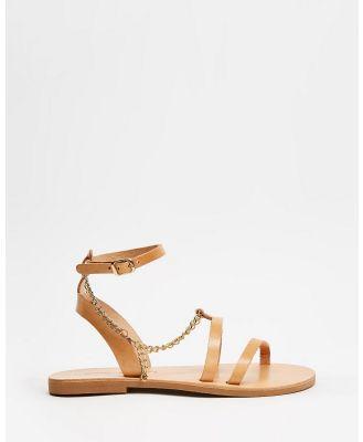 Ammos - Melita Sandals - Sandals (Tan) Melita Sandals
