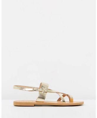 Ammos - Myrto Sandals - Sandals (Gold) Myrto Sandals