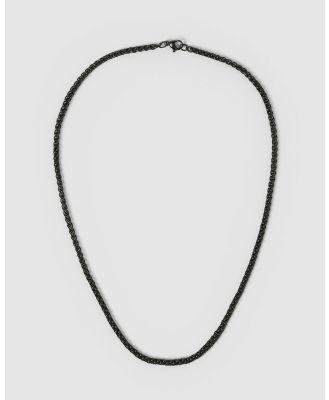 AOE MAN - Benz Men's Necklaces - Jewellery (Black) Benz Men's Necklaces