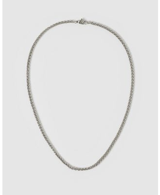 AOE MAN - Benz Men's Necklaces - Jewellery (Silver) Benz Men's Necklaces