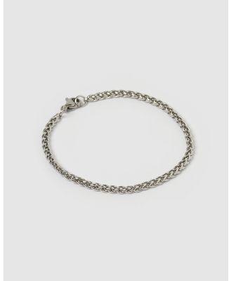 AOE MAN - Jeep Men's Bracelet - Jewellery (Silver) Jeep Men's Bracelet