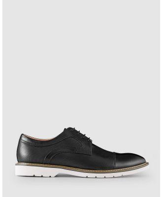 AQ by Aquila - Jonson Lace Up Shoes - Dress Shoes (Black) Jonson Lace Up Shoes