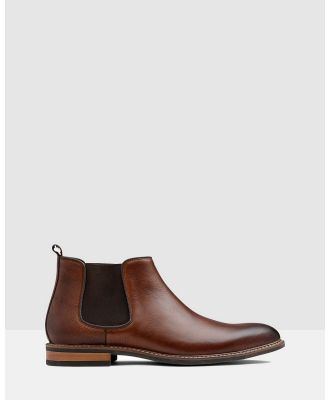 AQ by Aquila - Lucca Chelsea Boots - Boots (Tan) Lucca Chelsea Boots