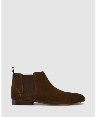 AQ by Aquila - Marty Chelsea Boots - Boots (Khaki Suede) Marty Chelsea Boots