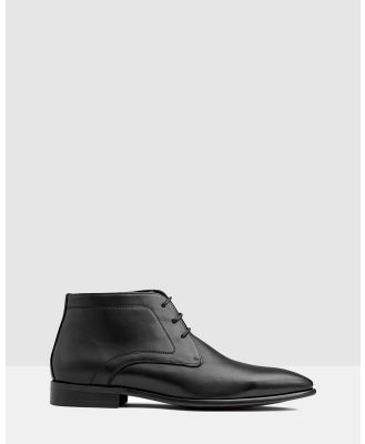 AQ by Aquila - Raydon Lace Up Boot - Boots (Black) Raydon Lace Up Boot