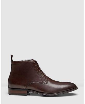 AQ by Aquila - Utah Chukka Boots - Boots (Brown) Utah Chukka Boots
