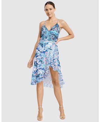 Aqua Blu Australia - Babylon Wrap Dress - Printed Dresses (Babylon) Babylon Wrap Dress