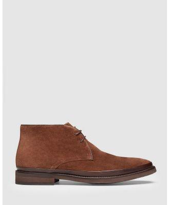 Aquila - Berenger Desert Boots - Boots (Tan) Berenger Desert Boots