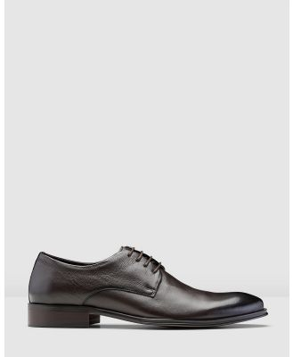 Aquila - Watford Lace Up Shoes - Dress Shoes (Brown) Watford Lace Up Shoes