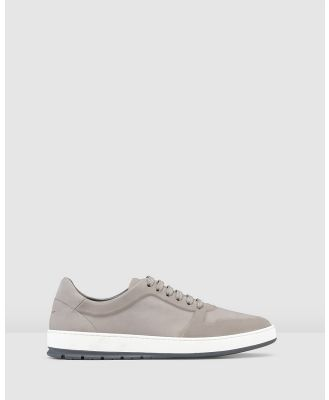 Aquila - Zaniolo Sneakers - Lifestyle Sneakers (Nubuck Light Grey) Zaniolo Sneakers