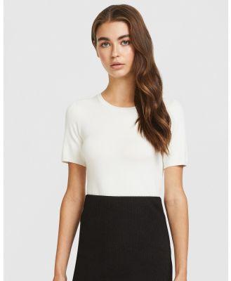ARIS - Knit Tee - T-Shirts & Singlets (White) Knit Tee