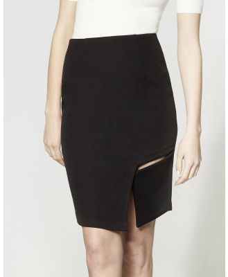 ARIS - Square Cut Out Skirt - Pencil skirts (Black) Square Cut-Out Skirt
