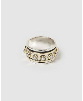 Arms Of Eve - Alyssa Pearl Ring - Jewellery (Silver) Alyssa Pearl Ring