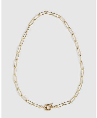 Arms Of Eve - Boca Gold Stacking Chain Necklace - Jewellery (Gold) Boca Gold Stacking Chain Necklace