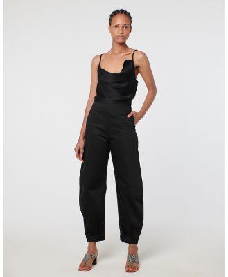 Arnsdorf - Mira Trouser - Pants (Black) Mira Trouser