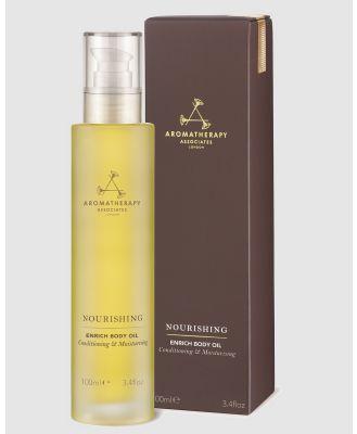 Aromatherapy Associates - Nourishing Enrich Body Oil - Beauty (Brown) Nourishing Enrich Body Oil