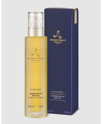 Aromatherapy Associates - Support Supersensitive Body Oil - Beauty (Navy) Support Supersensitive Body Oil