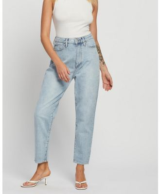 Articles of Society - Charlotte Mom Jeans - High-Waisted (Vintage Light Blue) Charlotte Mom Jeans