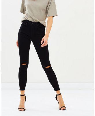 Articles of Society - High Lisa Jeans - High-Waisted (Black Tar) High Lisa Jeans