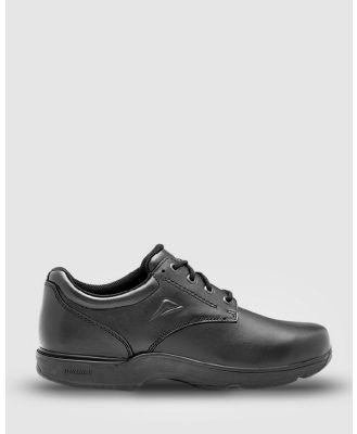 Ascent - Apex   2E Width - School Shoes (Black) Apex - 2E Width