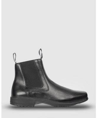 Ascent - Crest - Boots (Black) Crest