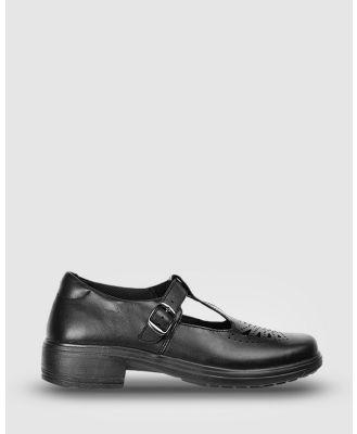 Ascent - Eve - School Shoes (Black) Eve