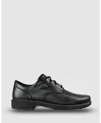 Ascent - Scholar   2E Width - School Shoes (Black) Scholar - 2E Width