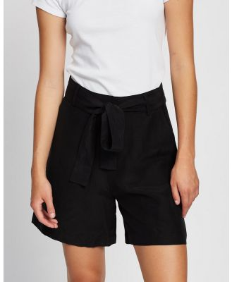 Assembly Label - Ivy Shorts - High-Waisted (Black) Ivy Shorts