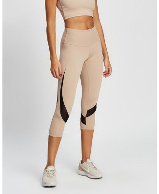 AVE Activewoman - Soft Compression Mesh Tights - all compression (Nude) Soft Compression Mesh Tights