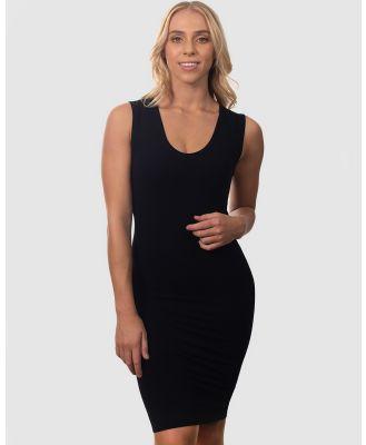 B Free Intimate Apparel - Bamboo Everyday Dress - Dresses (Black) Bamboo Everyday Dress