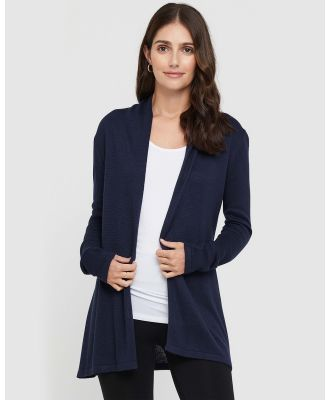 Bamboo Body - Duster Jacket - Jumpers & Cardigans (Ink) Duster Jacket