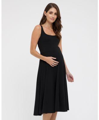 Bamboo Body - Melanie Dress - Dresses (Black) Melanie Dress