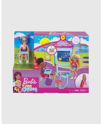 Barbie - Barbie Club Chelsea Playset - Barbie Dolls (School playset) Barbie Club Chelsea Playset