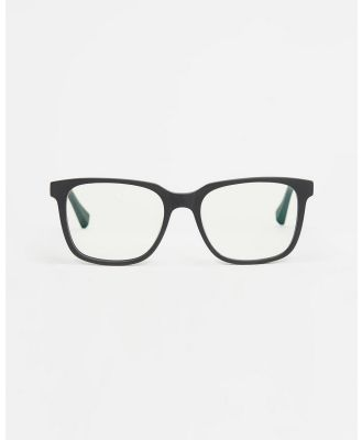 Baxter Blue - Carter Blue Light Blockers - Optical (Kale Matte Black) Carter Blue Light Blockers