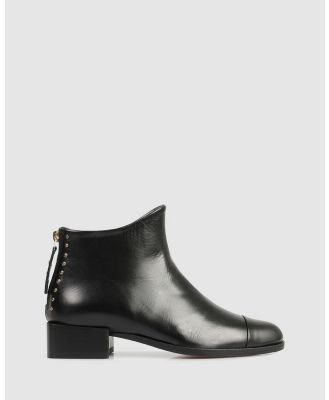 Beau Coops - Beau5 Square Ankle Boots - Boots (BLACK-901) Beau5 Square Ankle Boots