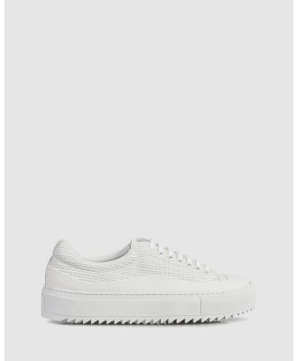 Beau Coops - Dina Low Top sneakers - Lifestyle Sneakers (WHITE-001) Dina Low Top sneakers