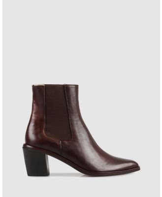 Beau Coops - Duplex Ankle Boots - Boots (BROWN-200) Duplex Ankle Boots