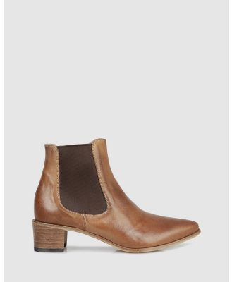 Beau Coops - Lumier Ankle Boots - Boots (TAN-240) Lumier Ankle Boots