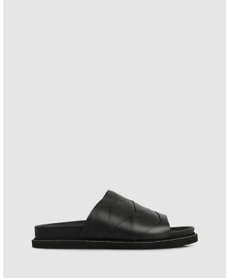 Beau Coops - Saia Slides - Casual Shoes (BLACK-900) Saia Slides