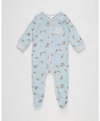 Bebe by Minihaha - Callum Print Romper   Babies - Longsleeve Rompers (Print) Callum Print Romper - Babies