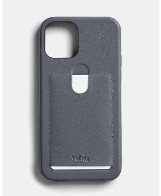 Bellroy - Phone Case   1 card i12   i12 Pro - Home (Grey) Phone Case - 1 card i12 - i12 Pro