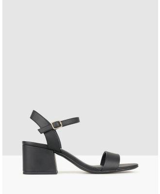 Betts - Camilla Block Heel Sandals - Sandals (Black) Camilla Block Heel Sandals