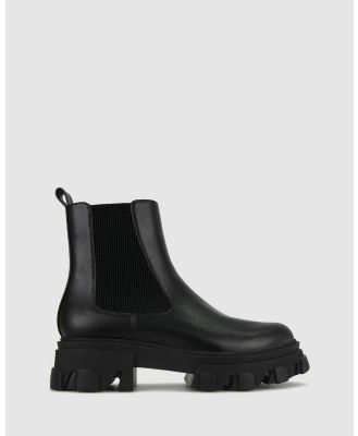 Betts - Grime Extra Chunky Chelsea Boots - Boots (Black) Grime Extra Chunky Chelsea Boots