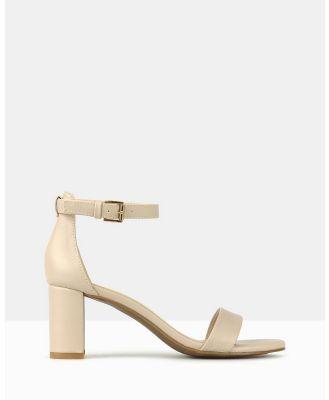 Betts - Seduce Low Block Heels - Sandals (Nude) Seduce Low Block Heels