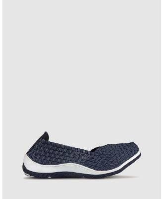 Betts - Sweet Elasticated Slip On - Casual Shoes (Denim) Sweet Elasticated Slip On